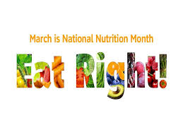 National Nutrition Month Scarborough ME